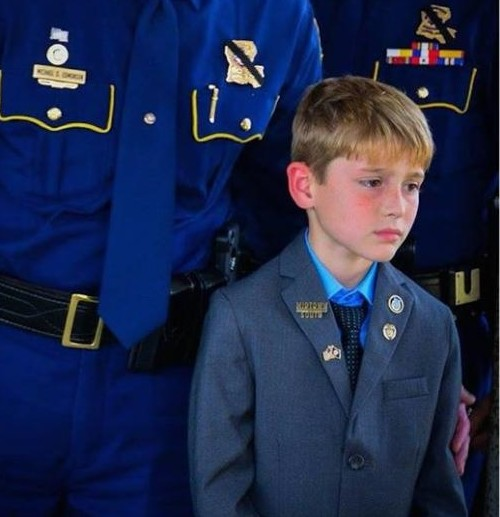 Meghan Mccain Greta Van Susteren: As Another Officer Is Killed, Photo Of Boy At Dad's