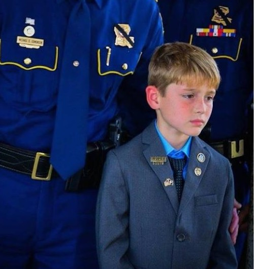 Meghan Mccain Leaves Fox: As Another Officer Is Killed, Photo Of Boy At Dad's