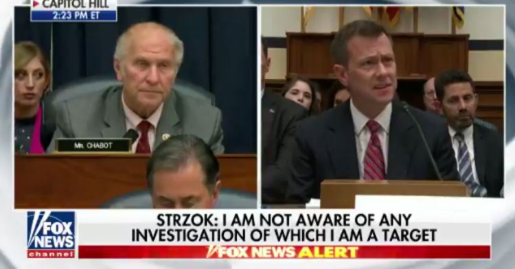 strzok people are misunderstanding my text calling trump supporters
